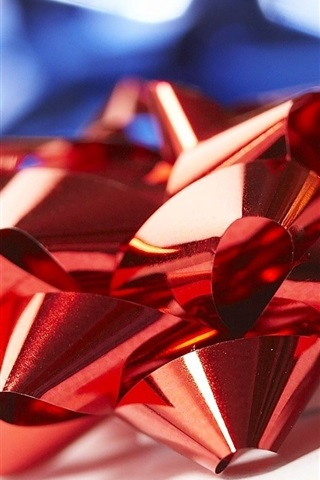 iPhone Wallpaper Red bow, decoration