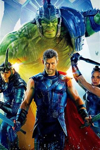 iPhone Wallpaper Thor: Ragnarok 2017 HD