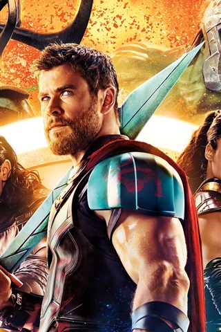 iPhone Wallpaper Thor: Ragnarok