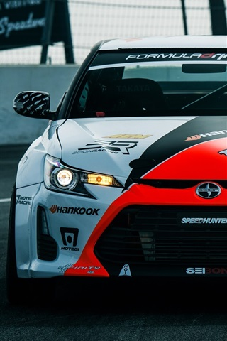iPhone Wallpaper Toyota Scion FR-S supercar front view