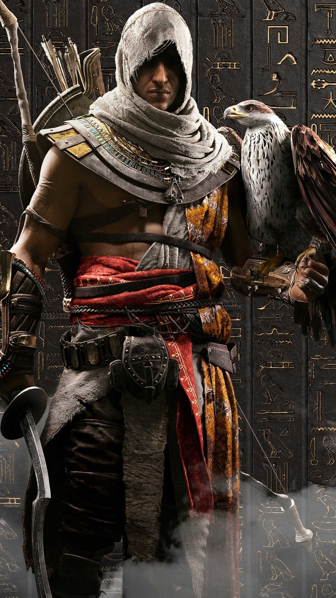 Assassin S Creed Origins Eagle Ubisoft Games 1080x1920 Iphone 8