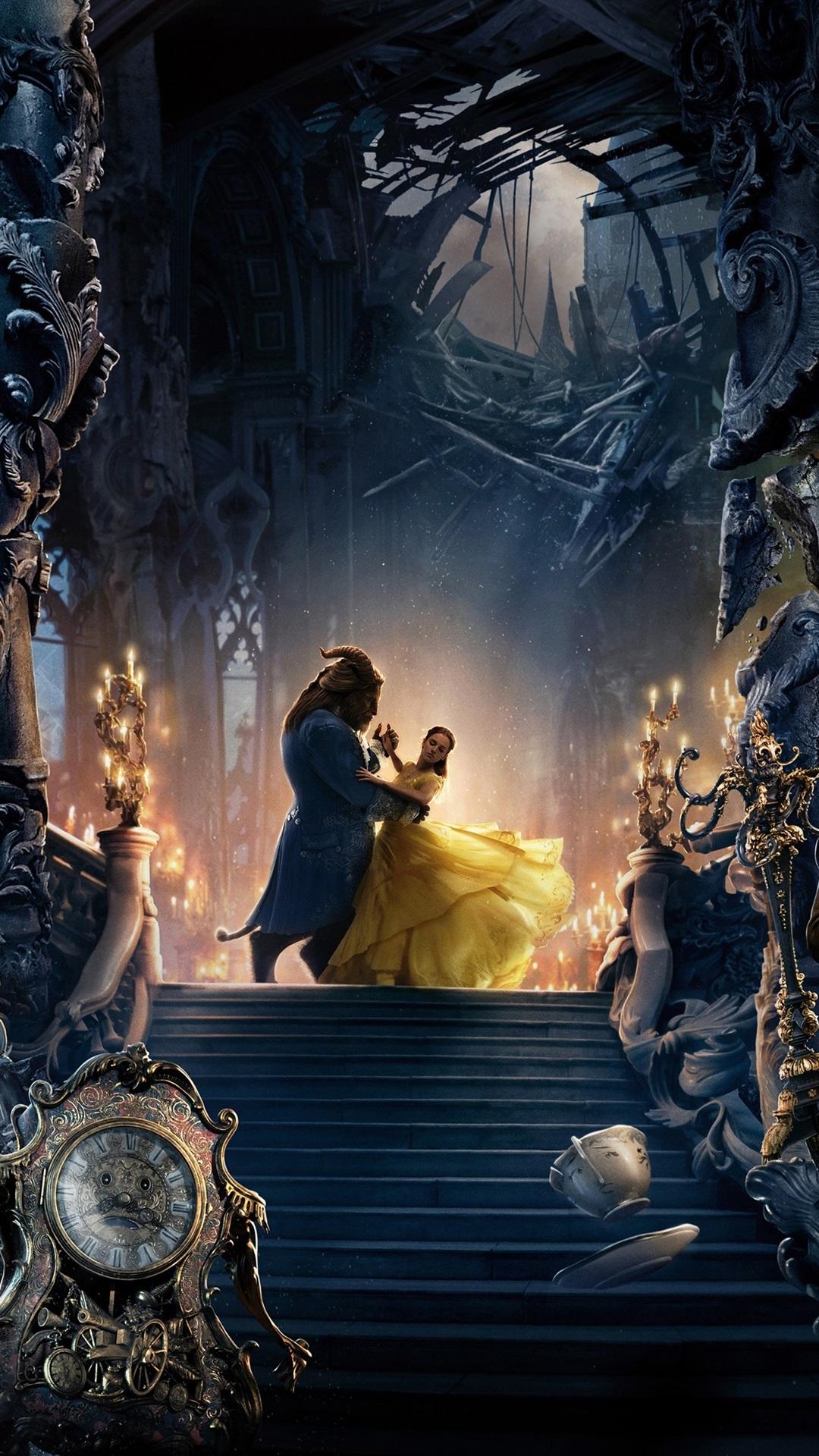 Fonds Décran La Belle Et La Bête Disney Film 2017