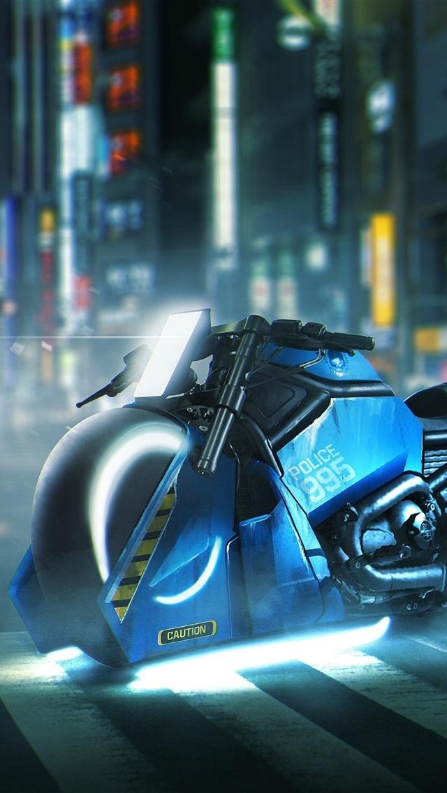 ブレードランナー49 ハーレーダビッドソンオートバイ 1080x19 Iphone 8 7 6 6s Plus 壁紙 背景 画像