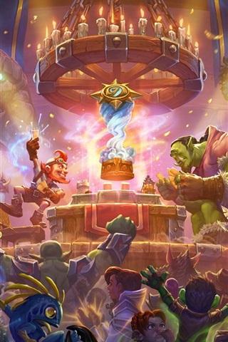 iPhone Wallpaper Blizzard, World of Warcraft, hot games