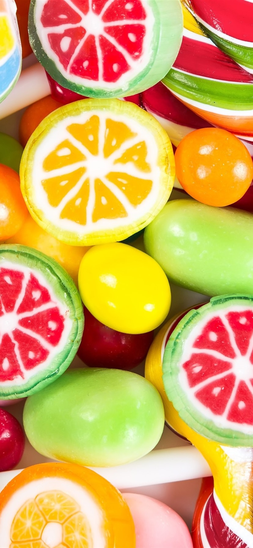 Colorful Food Wallpaper Free Download: Wallpaper Colorful Candy, Lollipops, Sweet Food 3840x2160