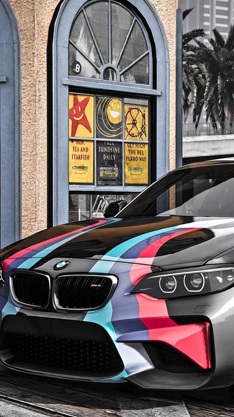 Gta 5 Bmw M2 Car 750x1334 Iphone 8 7 6 6s Wallpaper