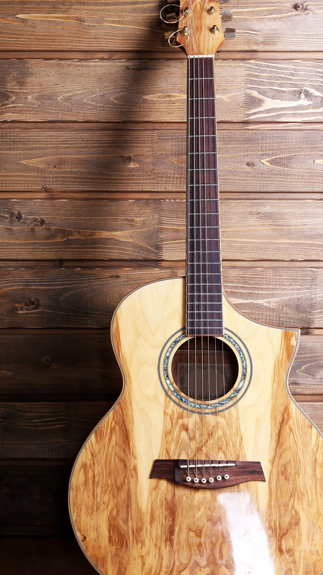 Guitar Musical Wood Background 1080x1920 Iphone 8 7 6 6s