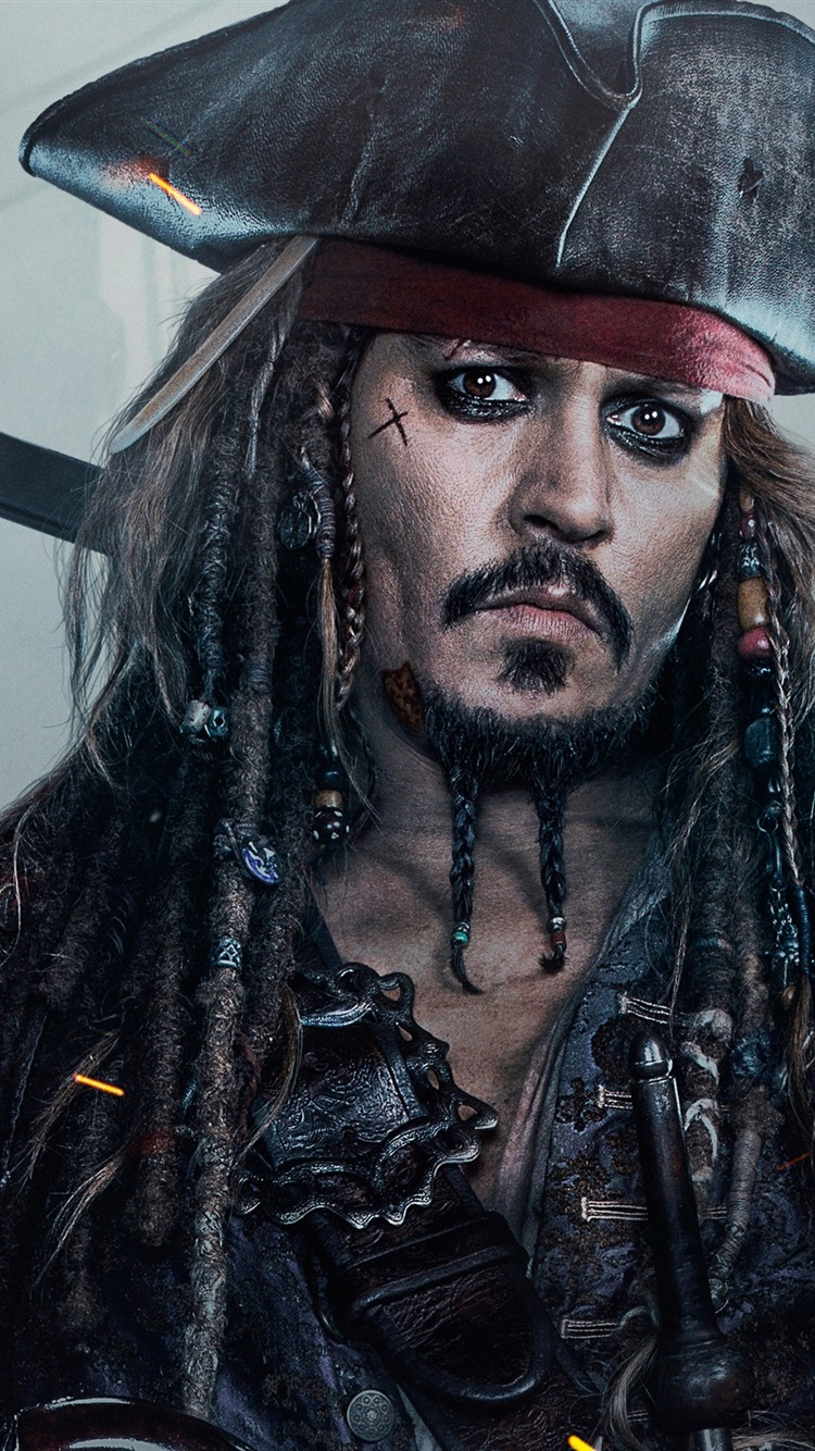 ジョニー デップ パイレーツ オブ カリビアン 最後の海賊 750x1334
