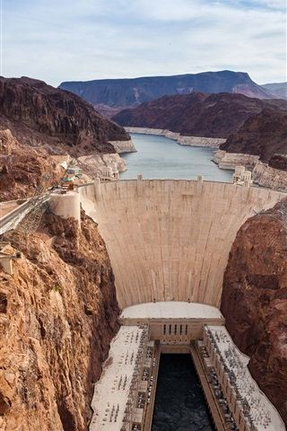 iPhone Wallpaper Nevada, Grand Canyon, Hoover Dam, USA