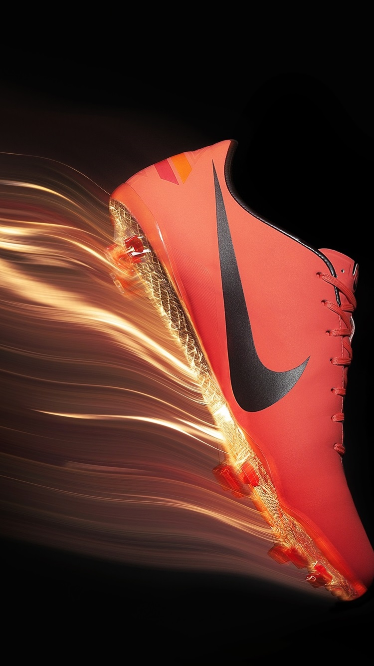 Nike red shoes 750x1334 iPhone 8/7/6/6S wallpaper