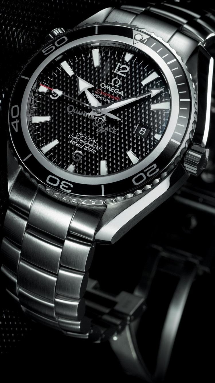 Fondos De Pantalla Reloj Omega Estilo Negro 2560x1600 Hd Imagen