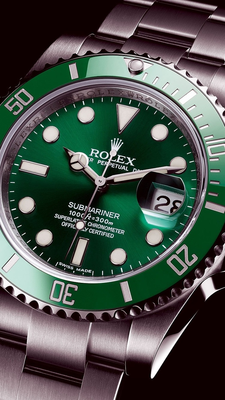 Wallpaper Rolex Green Submariner Watch 2560x1440 Qhd Picture