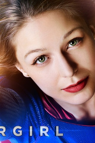 iPhone Wallpaper TV Series, Supergirl, Melissa Benoist