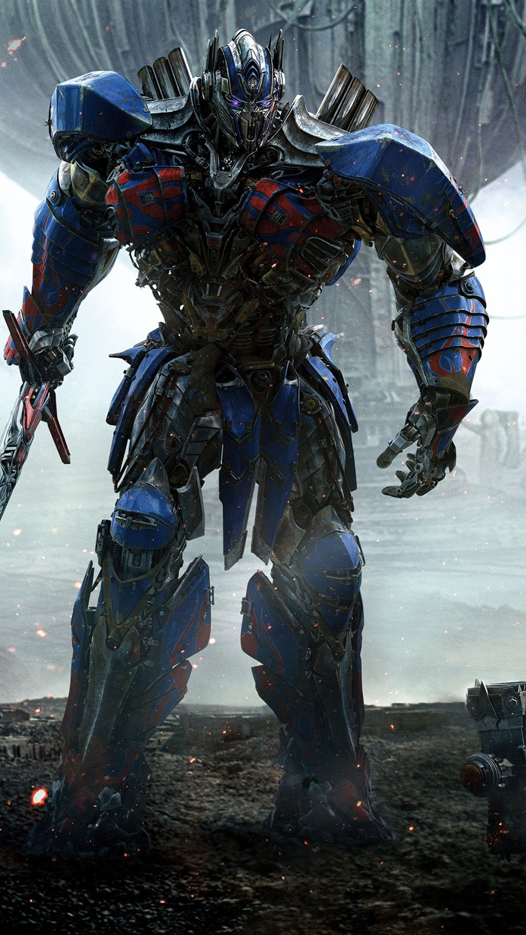 Wallpaper Transformers 5, Optimus Prime And Bumblebee