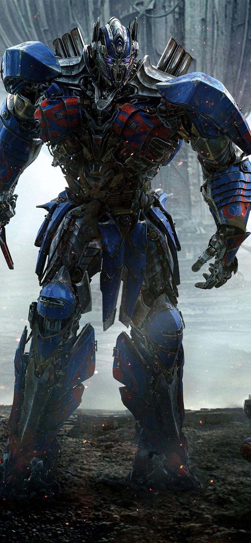 Wallpaper Transformers 5 Optimus Prime And Bumblebee