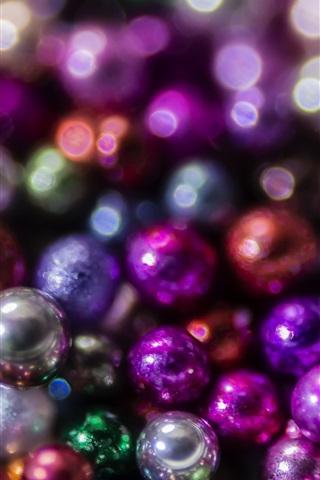 iPhone Papéis de Parede Muitas bolas, decoração