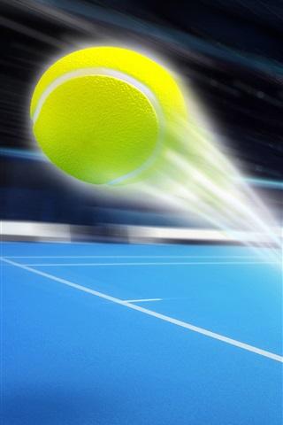 iPhone Wallpaper Ball flight trajectory, sport, art design