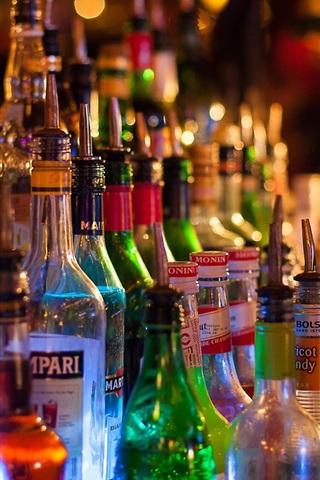 Fondos de pantalla Bar, botellas, bebidas alcohólicas 1920x1200 HD Imagen