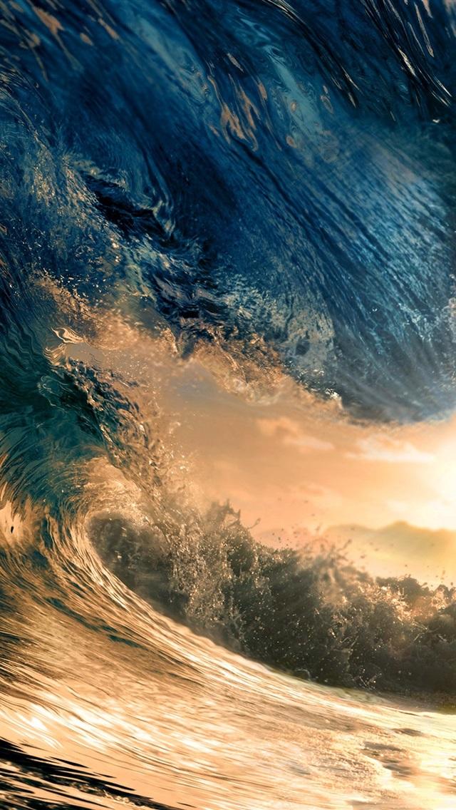 Fonds D 233 Cran Grande Vague Mer Soleil 2880x1800 Hd Image