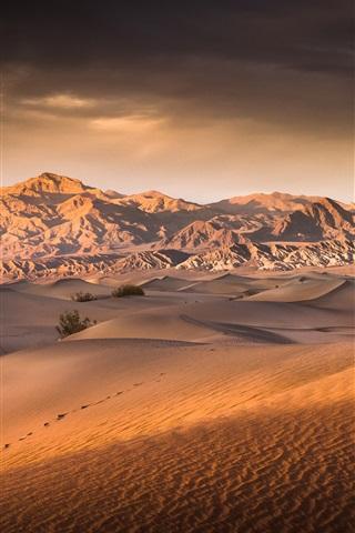 iPhone Wallpaper Death Valley, desert, USA