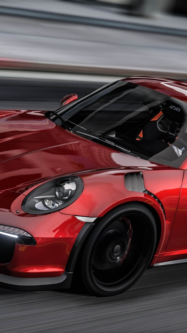 Wallpaper Porsche 911 Red Sports Car Speed Gta Game 2560x1440 Qhd