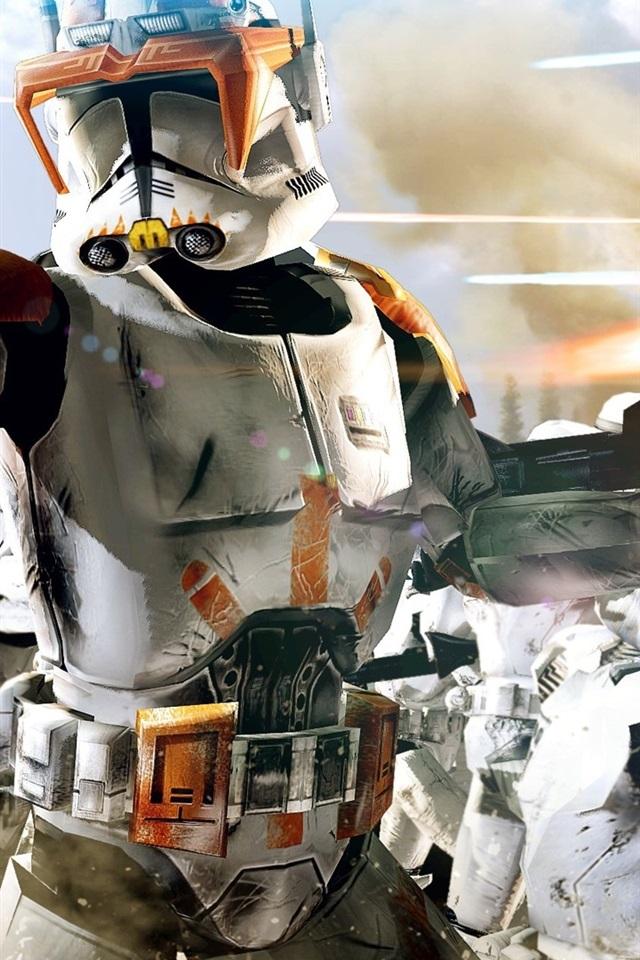 Star Wars The Clone Wars 640x1136 Iphone 55s5cse Wallpaper