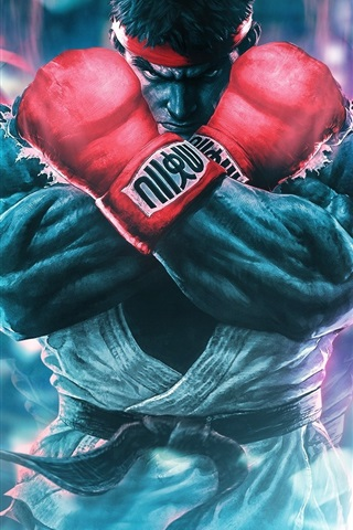 iPhone Wallpaper Street Fighter 5, classic games