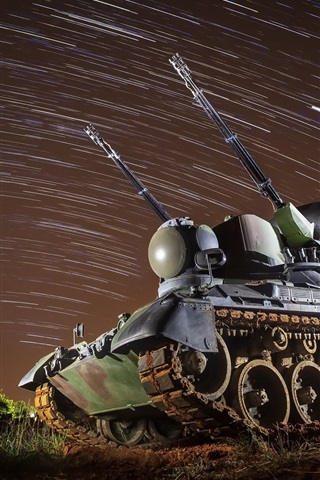 iPhone Wallpaper Army, tank, artillery