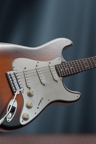 iPhone Wallpaper Electric guitar