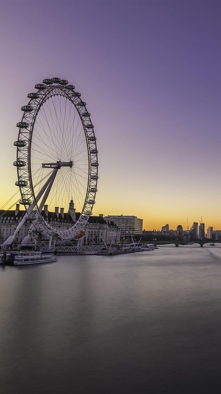 Обои dusk, at, london. Города foto 17