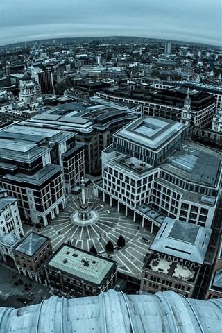 iPhone Wallpaper England, London, city panorama photography