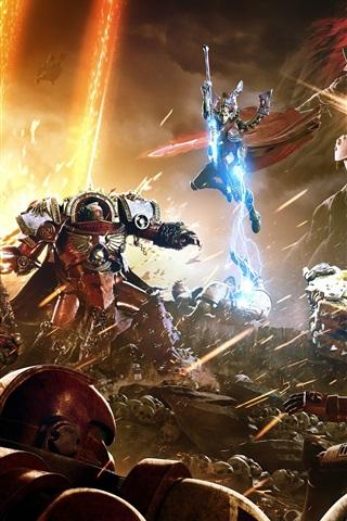 iPhone Wallpaper Hot game, Warhammer 40000: Dawn of War III