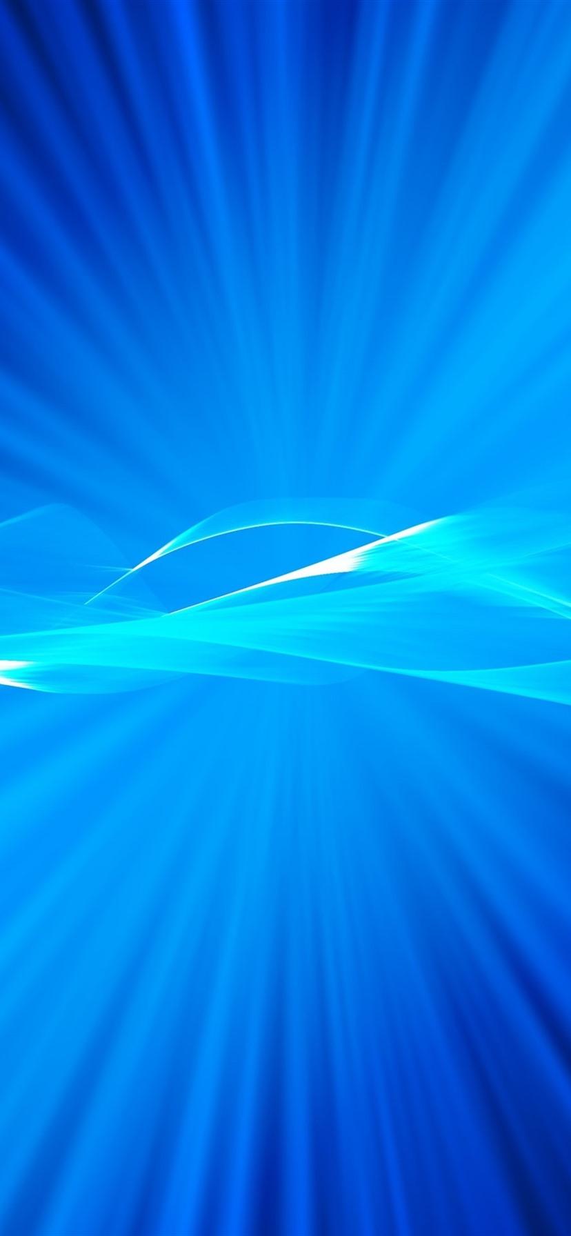 Helle Strahlen Blaue Art Abstrakt 3840x2160 Uhd 4k