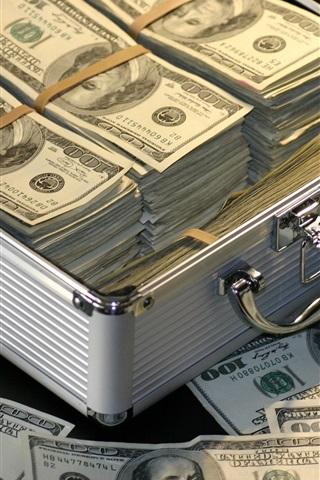 Mucho Dinero Dólares Estadounidenses 750x1334 Iphone 8766s