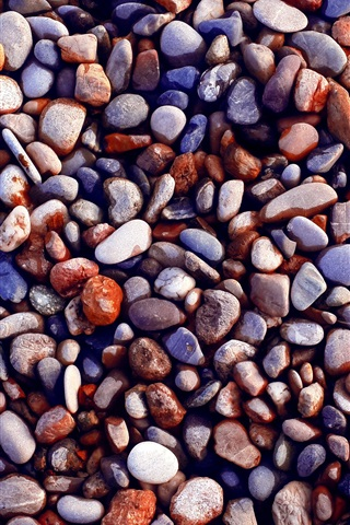 iPhone Wallpaper Many stones, gravel