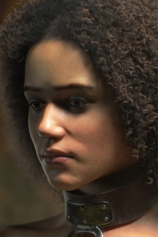 iPhone Wallpaper Short hair girl, Game of Thrones