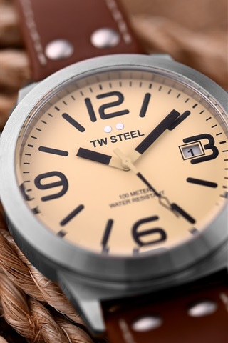 iPhone Wallpaper TW Steel watch, rope