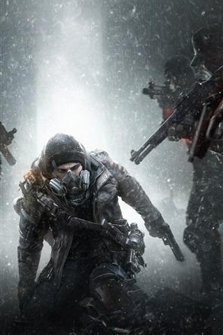 iPhone Papéis de Parede Tom Clancy's The Division, jogo Ubisoft