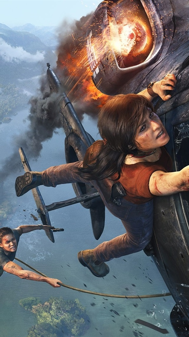 Uncharted The Lost Legacy 640x1136 Iphone 55s5cse Fondos