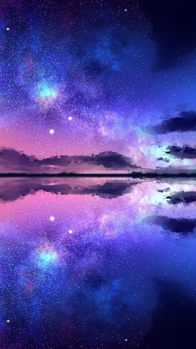 壁紙 美しい夜の自然の風景 星空 星 海 1920x1200 Hd 無料のデスクトップの背景 画像