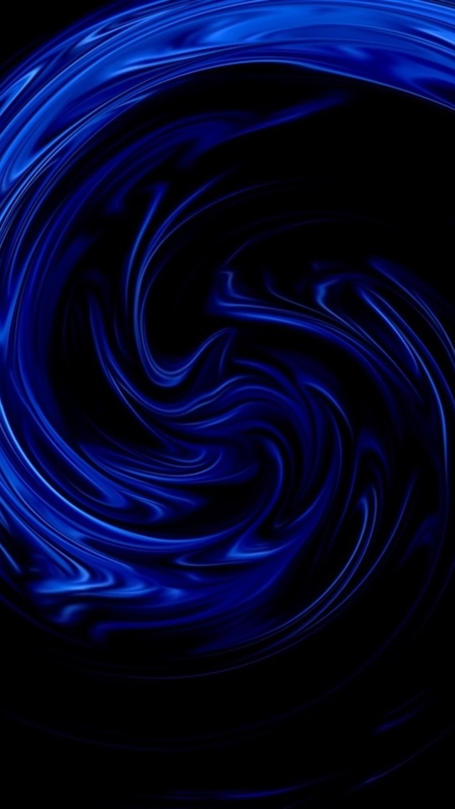 c71253461f0 Curvas azules, fondo abstracto, negro 640x1136 iPhone 5/5S/5C/SE ...