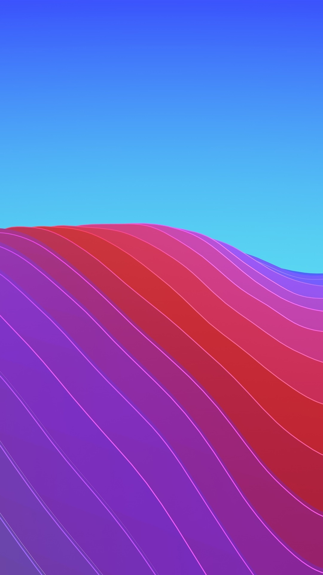 Colorful Curves Abstract 1080x1920 Iphone 8 7 6 6s Plus