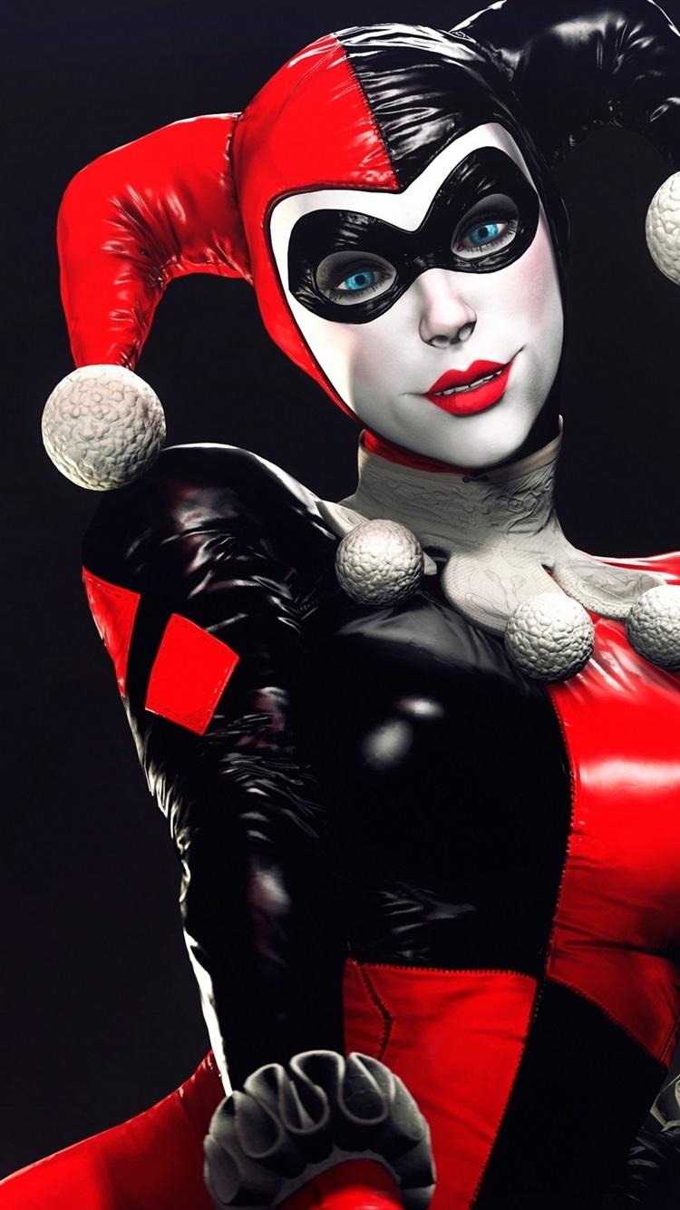 Wallpaper Dc Comics Harley Quinn Villain Girl Clown 2880x1800 Hd
