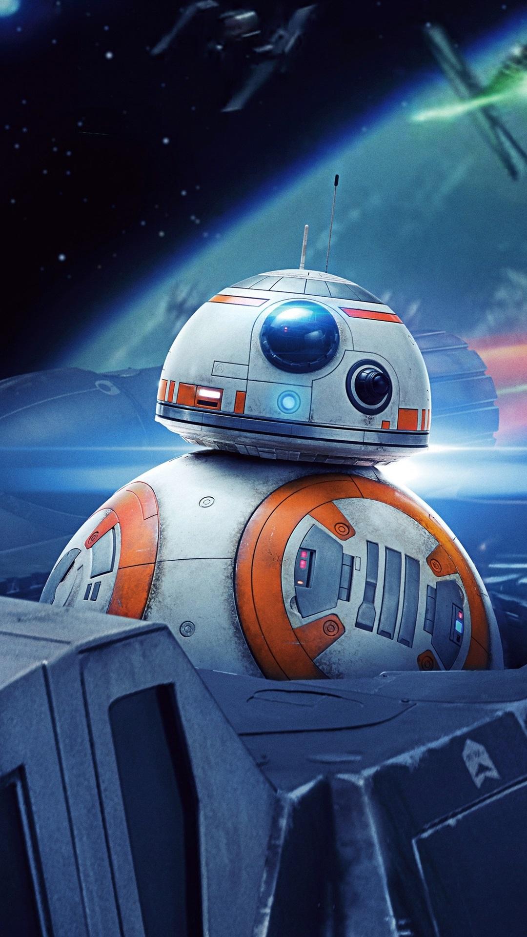 Wallpaper Star Wars, BB8 robot