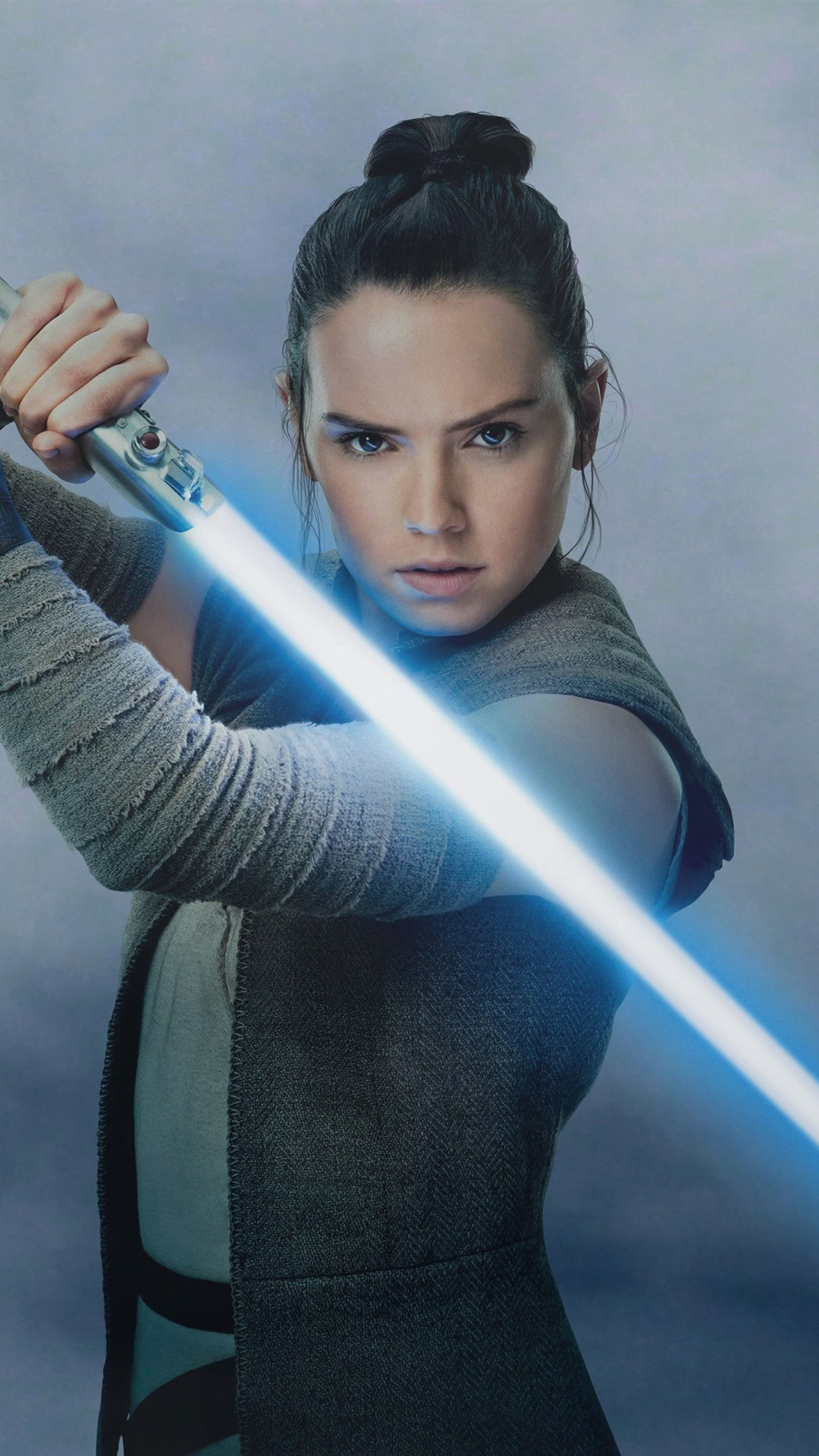 Wallpaper Star Wars The Last Jedi Daisy Ridley Laser Sword 3840x2160 Uhd 4k Picture Image