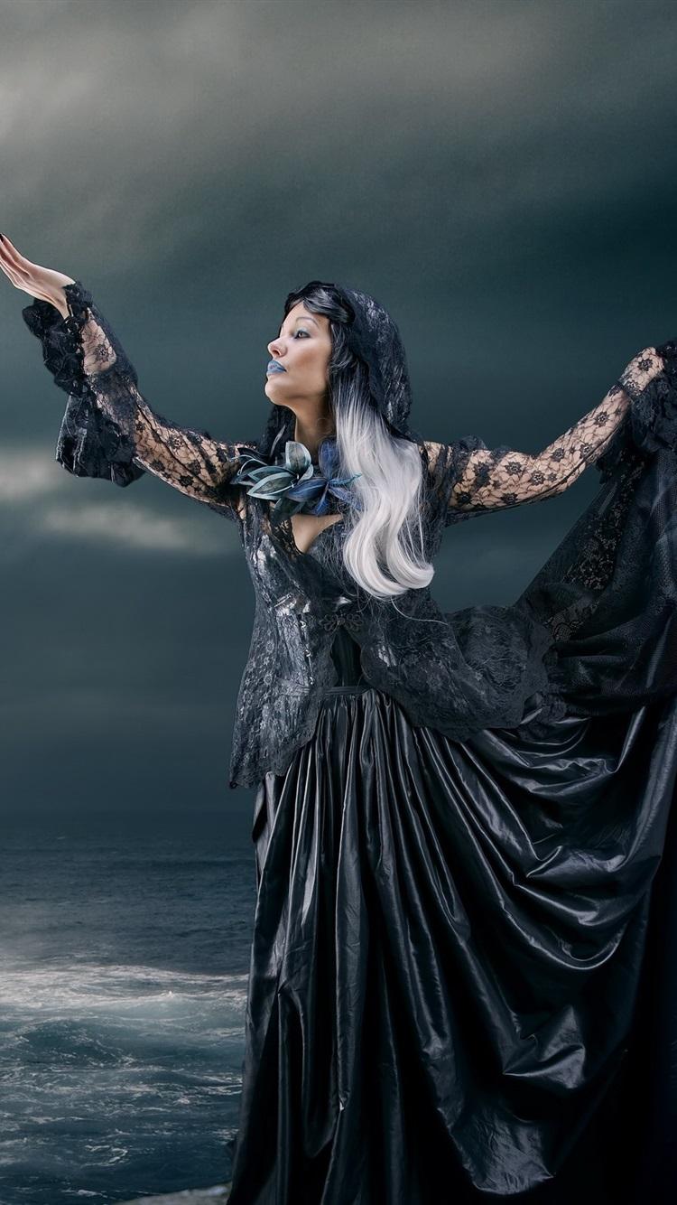 schwarze hexe