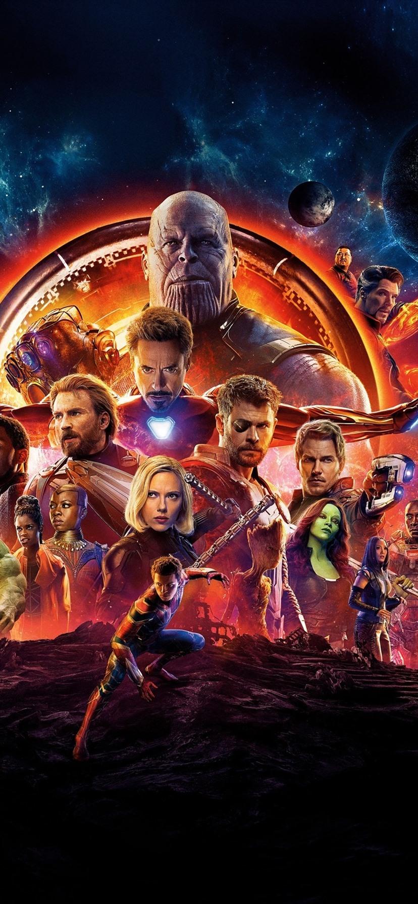 Marvel Avengers Wallpaper Phone Wallpapers