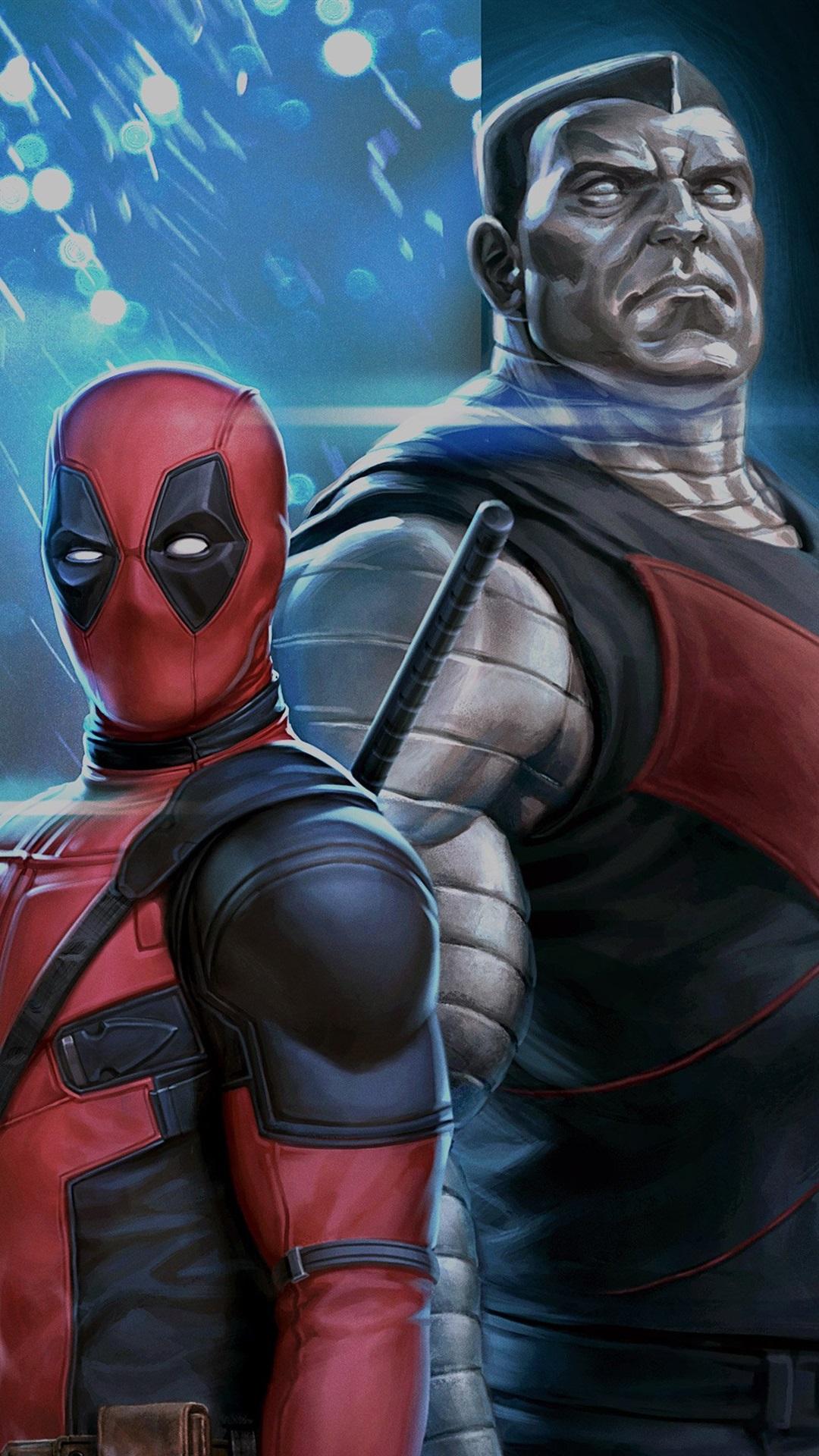 Deadpool 2 1080x1920 iPhone 8/7/6/6S