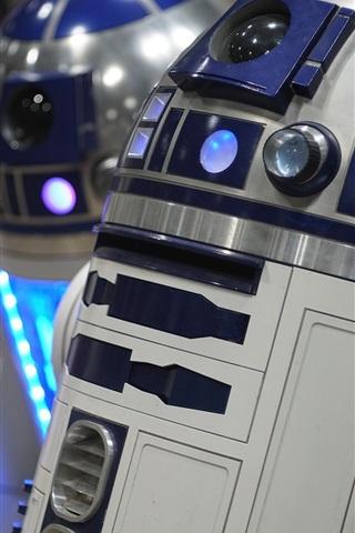 iPhone Wallpaper R2-D2 robot, Star Wars