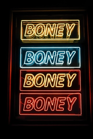iPhone Wallpaper Sign board, inscription words, neon, night